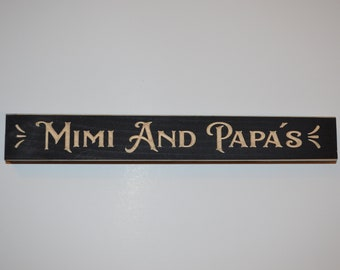 Best Mimi Ever Painted Skinny Sign Wooden Sign My Word