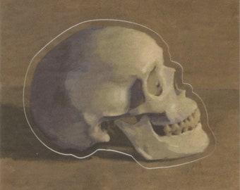 Skull Sticker!