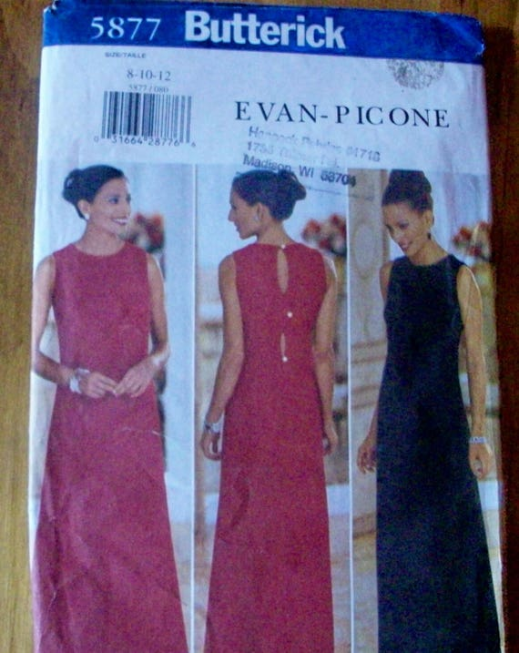 Butterick 5877 Evan Picone Misses Kleid Schnittmuster | Etsy