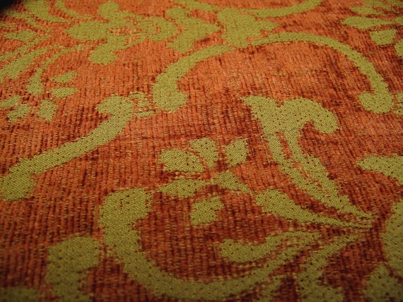 Vintage Tapestry Fabric Upholstery Three Yards 60 Inches Wide Etsy