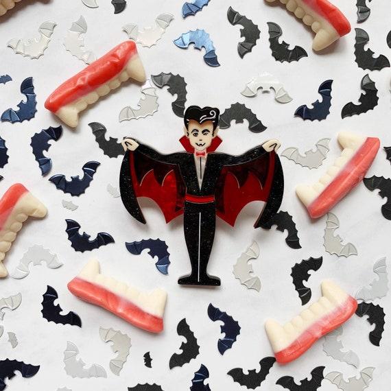 Ex Beaufriend Vampire Brooch by Lipstick /& Chrome