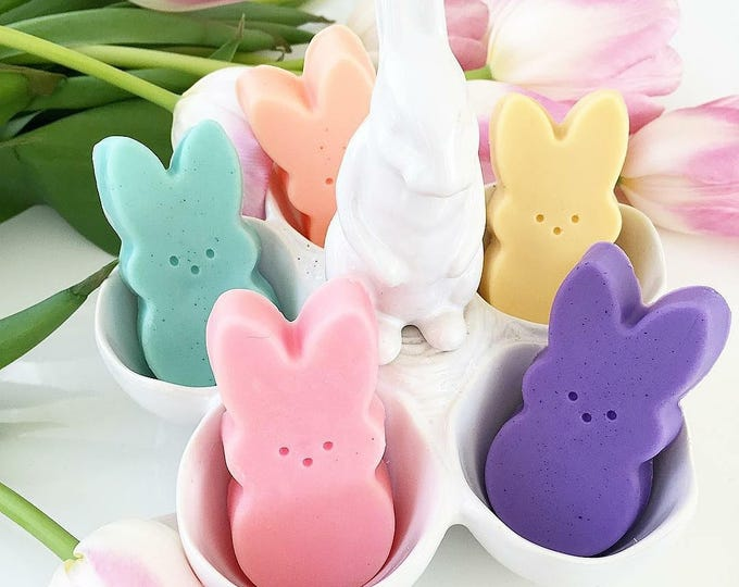 Gift for Her. Mom Gift. Mothers Day Gift. Easter Gift Ideas. Best Friend. Gift Women. Peep inspired Soaps. SOAP GIFT SET. Birthday Gift