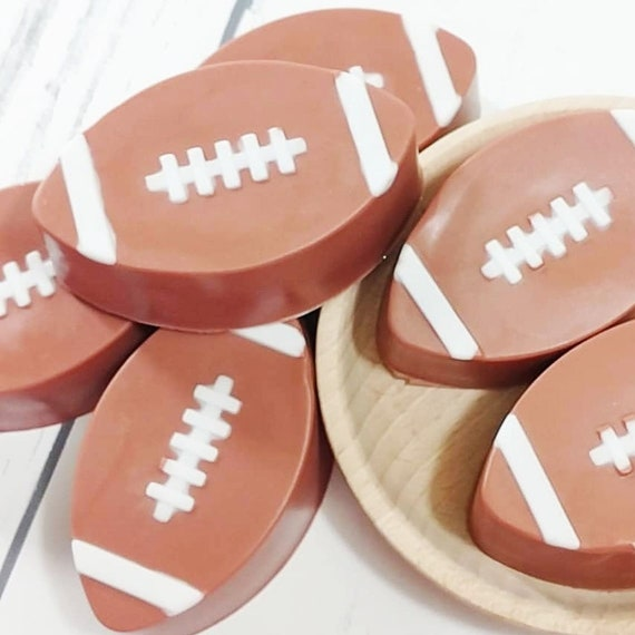 Football Bar Soap Football Gifts Football Party Football Soap College Football Soap Bar American Football Handmade Soap