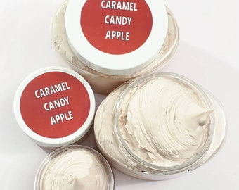 Caramel Candy Apple Body Lotion / Hand and Body Cream / Body Butter
