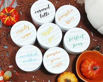 Body butter gift set. Fall Gift. Whipped body butters. Fall bath and body Autumn. Bath gift set. 7 piece cozy set. Pumpkin spice apple pie