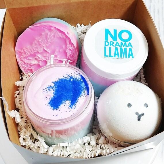 No Drama Llama Whipped Body Butter Lotion Vanilla Birthday Cake Scent Mama Christmas Ornament