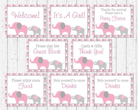 8.5 x 8.5 MCS Baby Pink Elephant Photo Album