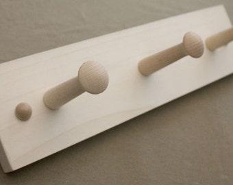 Shaker Coat rails for Painting