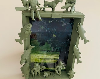 Custom Picture Frame Fishing & Hunting