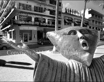 Strange Creature on the Street of Puerto Vallarta, Mexico