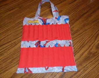 Spiderman Crayon Tote Bag