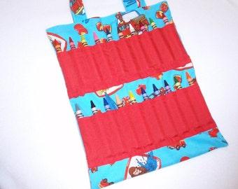 Curious George Crayon Tote Bag