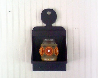 Colonial Lollipop Wall Box Candle Box