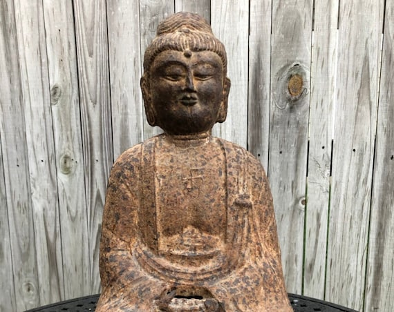 Goryeo Korean Buddha in Cast Iron