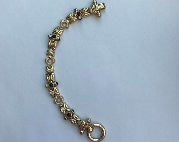 14 KT Gold Link Bracelet - 585 Italy (29 grams)