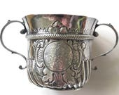 1716 George I London Britannia Silver Porringer or Caudle Cup