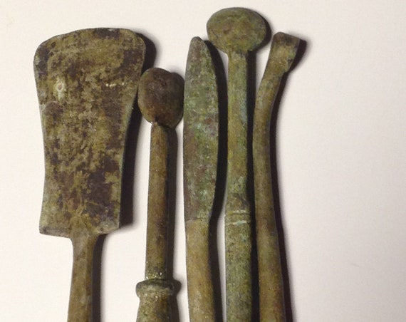 Bronze Roman Type Surgical Instruments