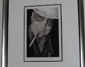 Iconic Hunter S. Thompson Las Vegas Photograph Signed by Denise Truscello