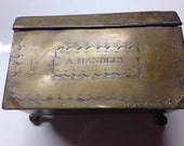 Ca 1800 Brass Box