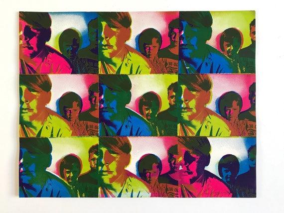 1969 Silkscreen Pop Art Print by Kay Roger