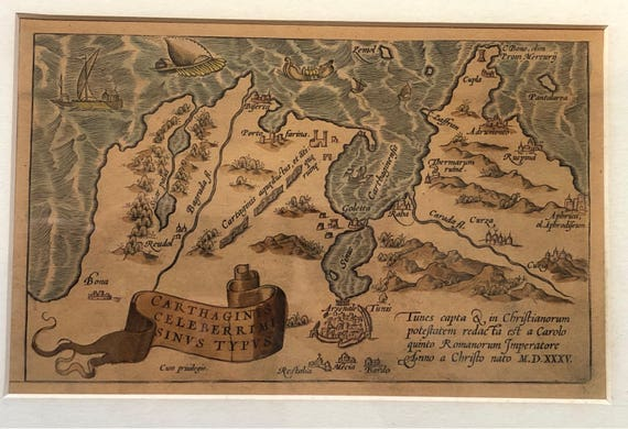 1535 Map of Carthage