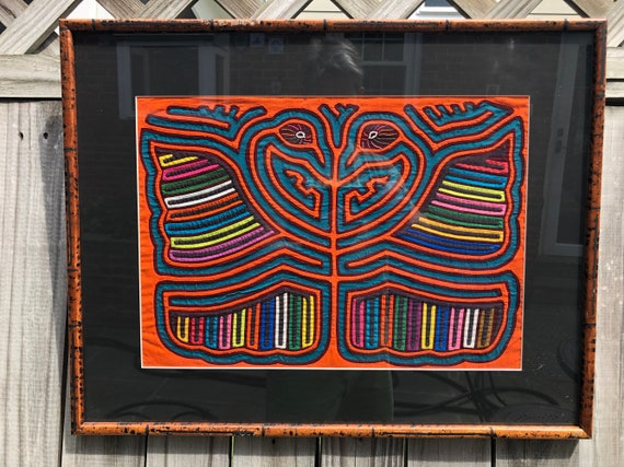 Mola Textile Made By Kuna of San Blas Islands In Panama