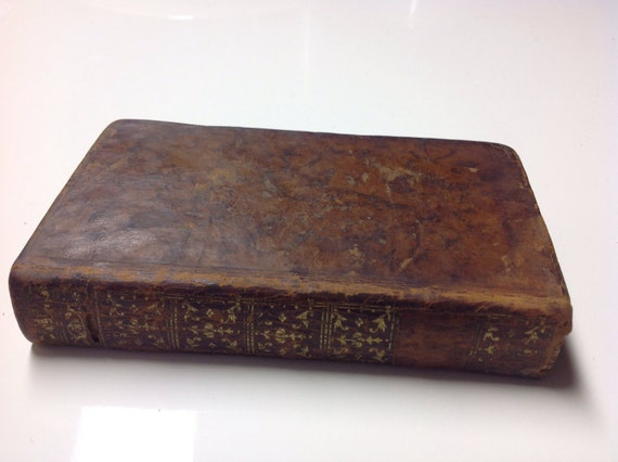 1778 Dictionnaire Abrege De La Fable - Abridged Dictionary of the Fable - 18th Century Book