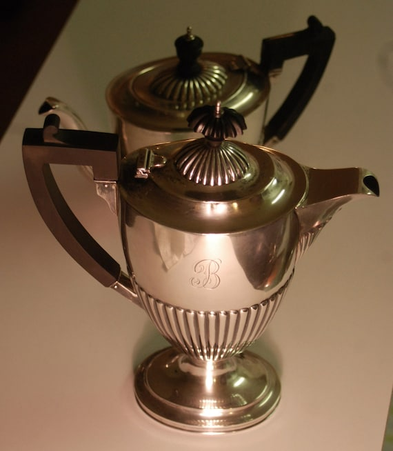 Ca 1900 Sterling Silver Coffee Pot by Birks