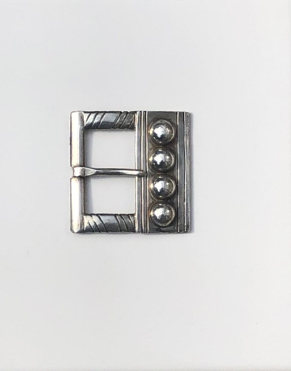 Early 1933-1938 William Spratling Sterling Silver Buckle Taxco 980