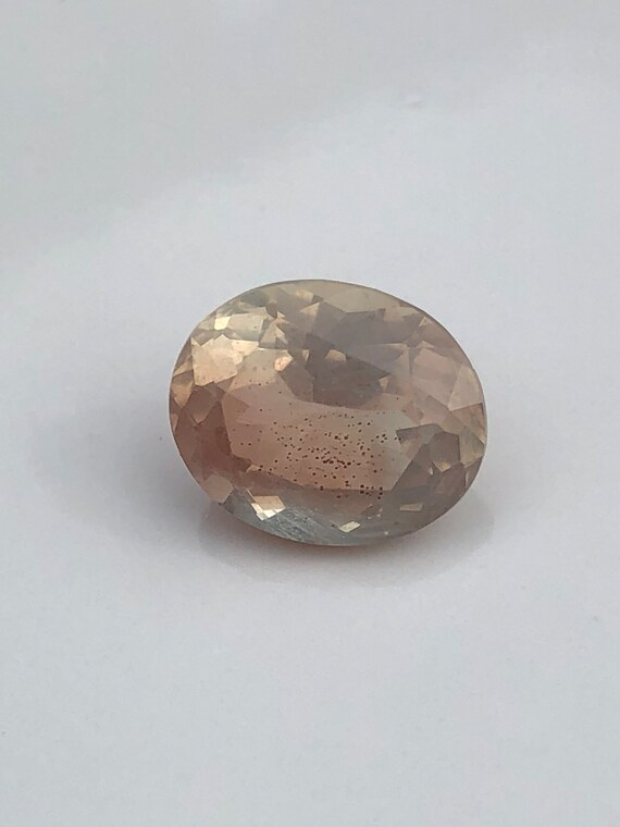 4 Ct Oregon Sunstone Oval Cut