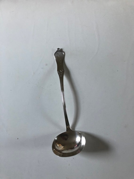 1855 Coin Silver Punch Ladle Retailed by Williams and Son Albany, NY