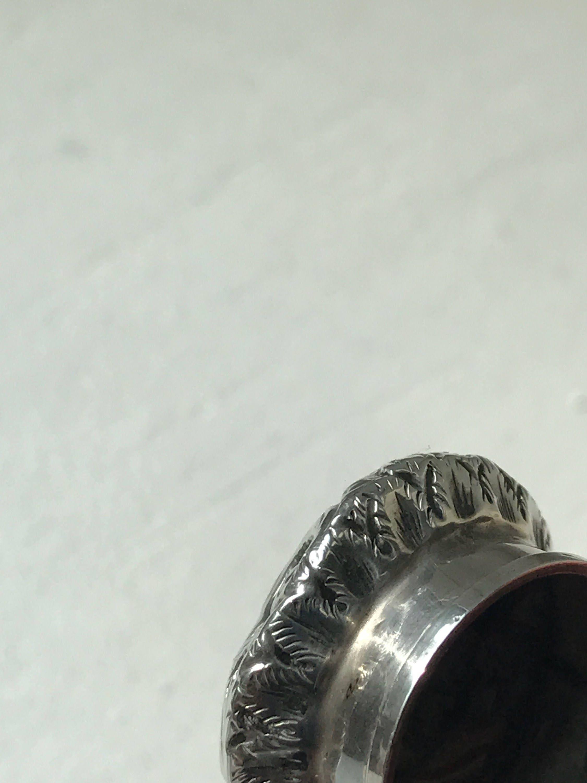 1840 Bouteille de parfum en verre Lithyalin rouge français