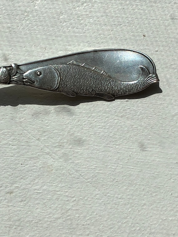 1890 Sterling Silver Souvenir Spoon for Atlantic City, NJ by Codding Brothers & Heilborn of North Attleboro, Massachusetts