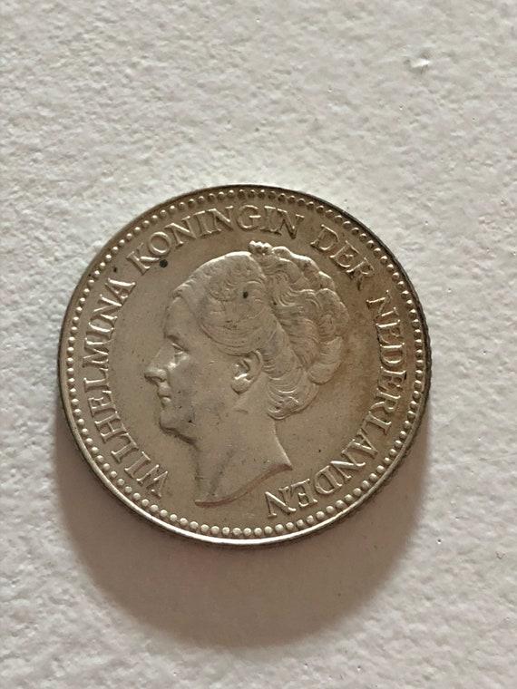 1929 Dutch 1/2 Gulden