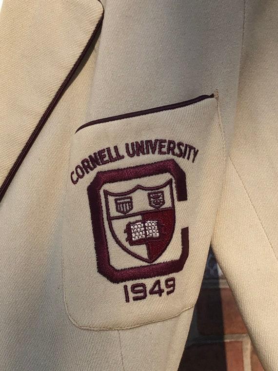 1949 Cornell University Freshman Jacket and Matching Hat