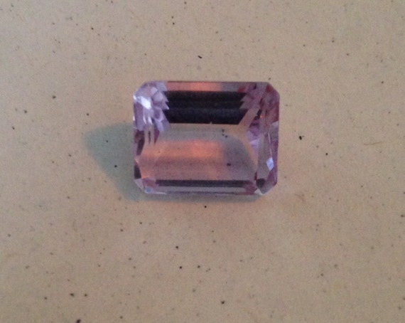 4.5 Ct Emerald Cut Amethyst Octagonal  (6.2mm x 8.5mm x 10.8mm)