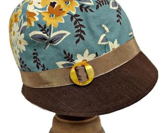 52952effae Cappelli di cotone cloche   Etsy