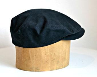 Men s Waxed Canvas Driving Cap - Men s Rain Hat - Made to Order 10062c58d7c5