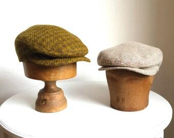 Men's Driving Cap - Made to Order - Custom Flat Cap - Choose Your Own Wool - Ivy Cap