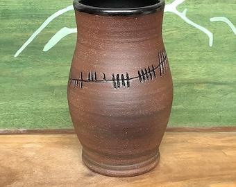 Ogham Mug LARGE - Ale Killed Us - Ancient Irish Script - Funny Ale Mug - Beer Lover Gift - Celtic History