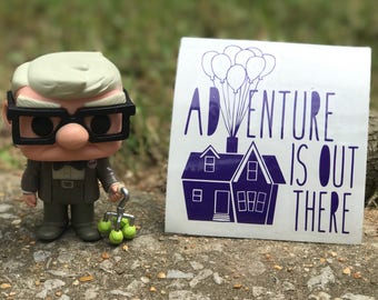 Adventure Is Out There Up Inspired Car, Laptop, or Decor Decal