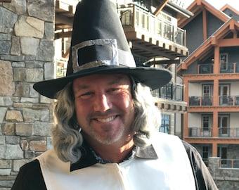 Pilgrim Costume Accessories Made to Order Pilgrim Hat Pilgrim Collar Pilgrim shoe buckles Thanksgiving Costume
