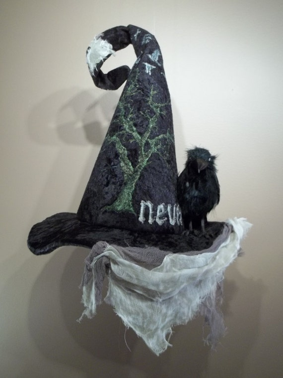 6ba8664ab29 Witch Hat Made to Order Halloween Costume Accessory Cosplay
