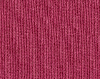SANGRIA 2x1 RIBBING, Cotton Lycra blend, Fat Eighth, 9 x 21 inches
