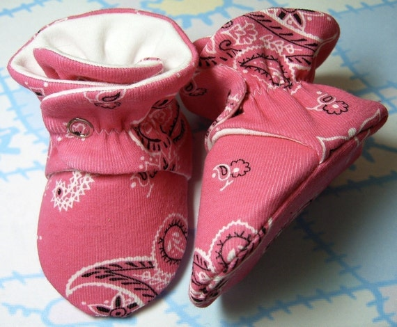 Thistledown Baby Bootie Pdf Sewing Pattern Includes 5 Sizes Etsy