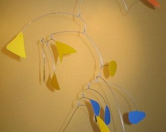 fishtail sail - hanging art mobile