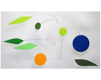 The Pinwheel Mobile | Midcentury Modern Hanging Mobile
