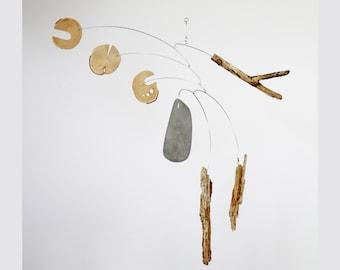 Drift III | Modern Hanging Mobile | 1:1 Original Art Mobile