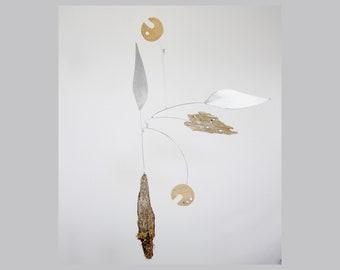 Drift I | Modern Hanging Mobile | 1:1 Original Art Mobile
