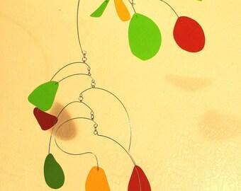 fall fell - hanging art mobile